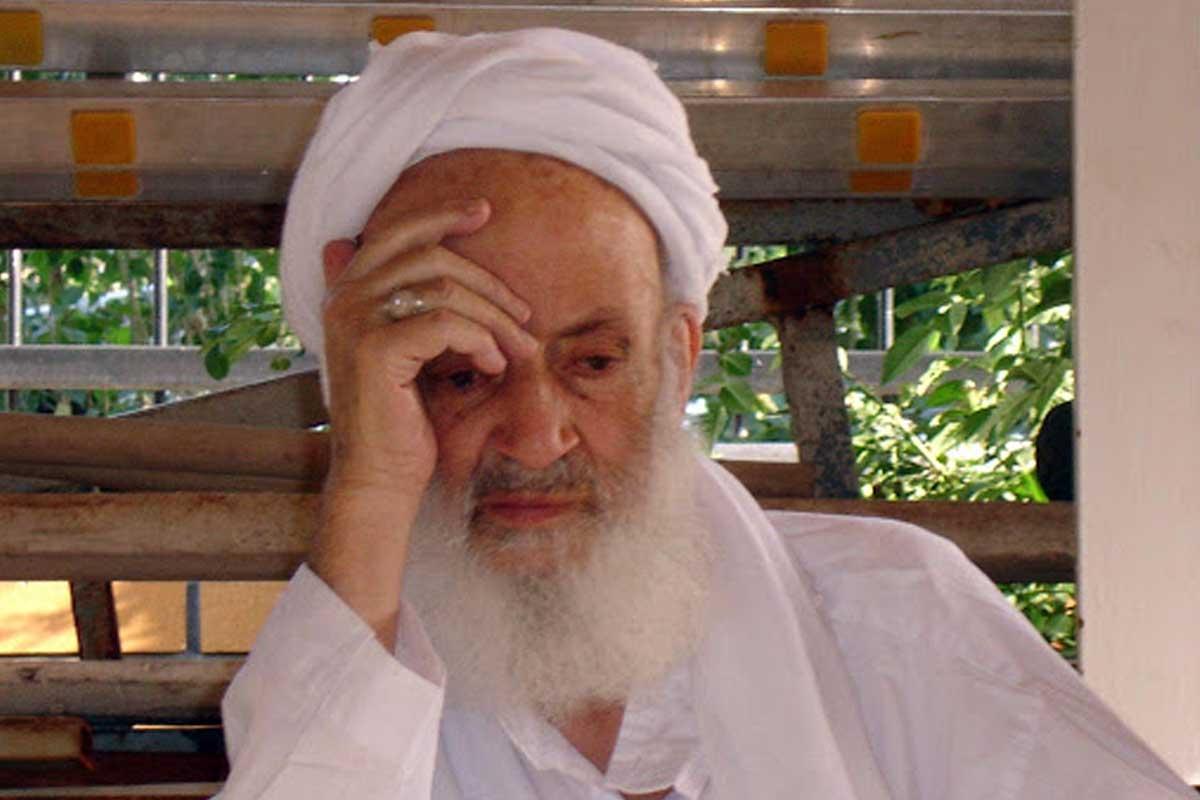 آخرش من میمانم و عملم/ آیت الله مجتهدی تهرانی