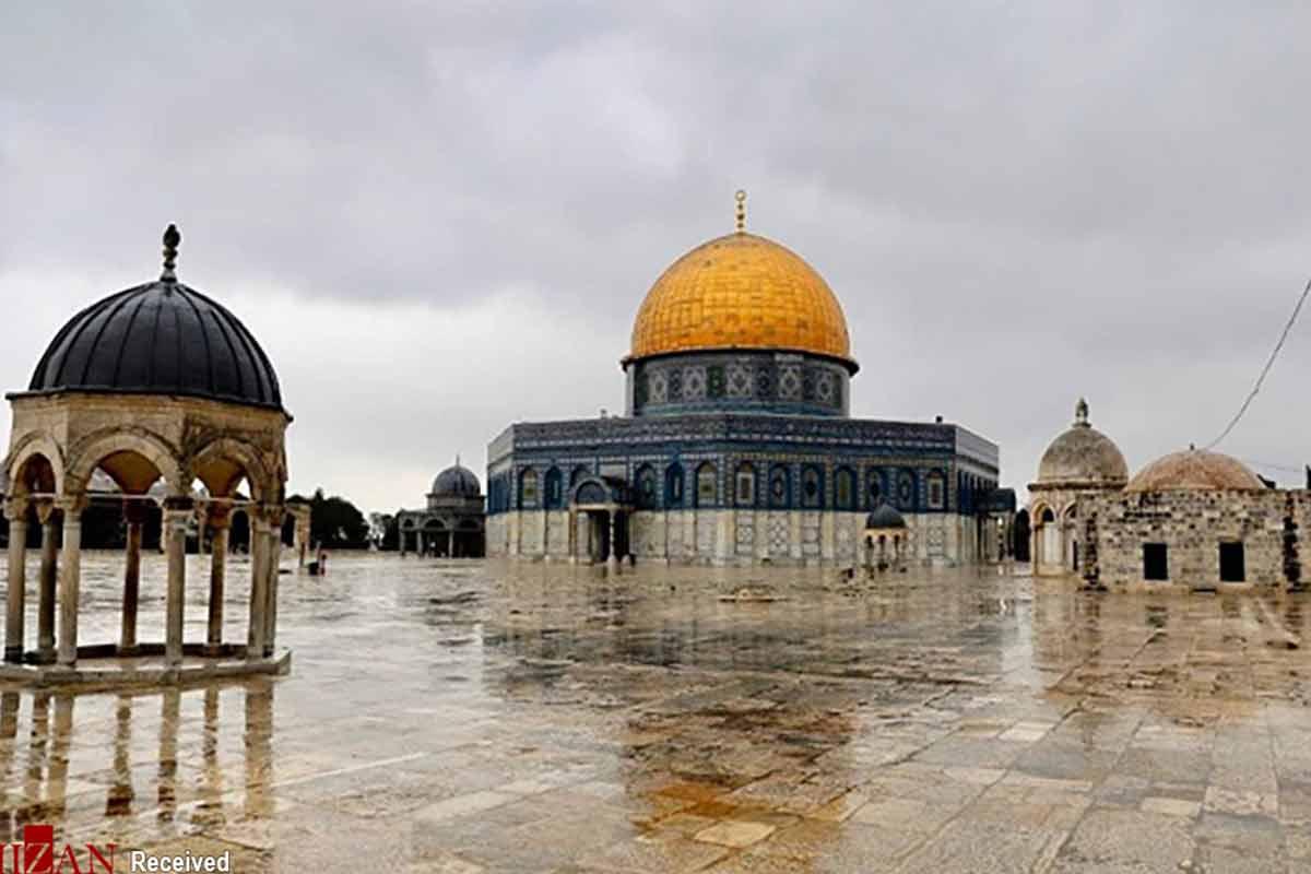 استوری با کیفیت از مسجد الاقصی
