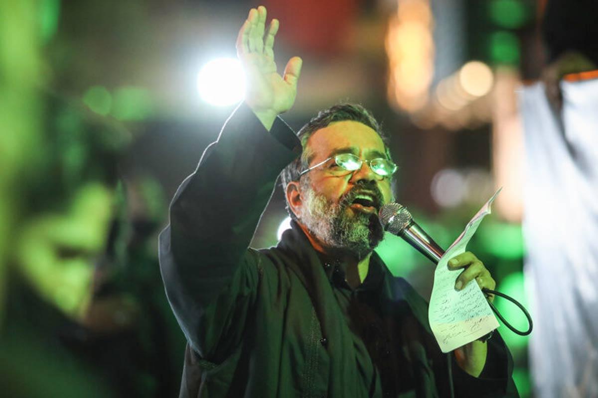 تکیه سیار حاج محمود کریمی در شب چهارم محرم 1399