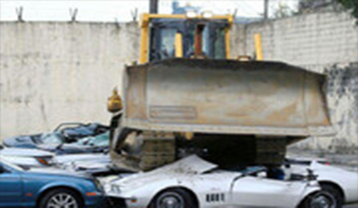 بلایی که بر سر ماشینهایی لاکچری قاچاق آمد!