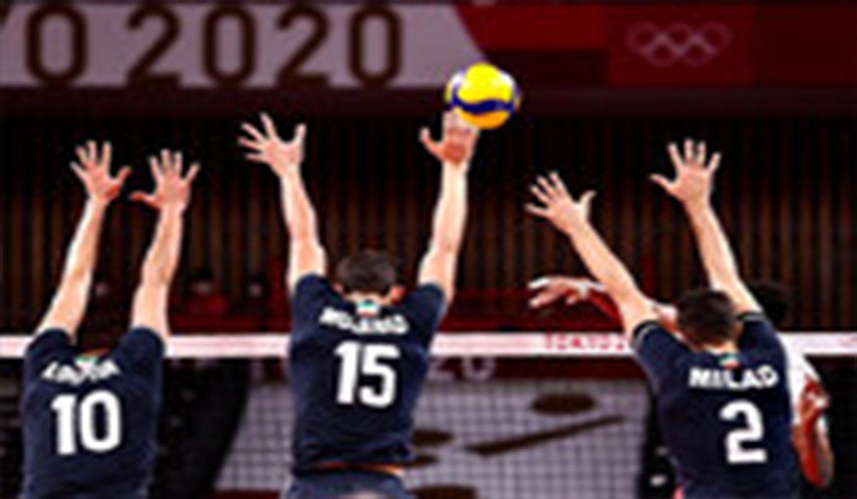 پیروزی شیرین والیبال ایران مقابل لهستان