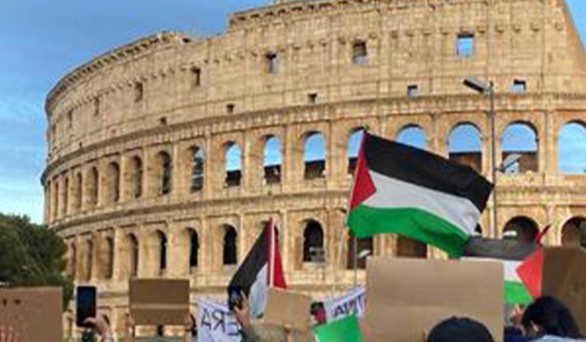 دفاع از فلسطین در ایتالیا