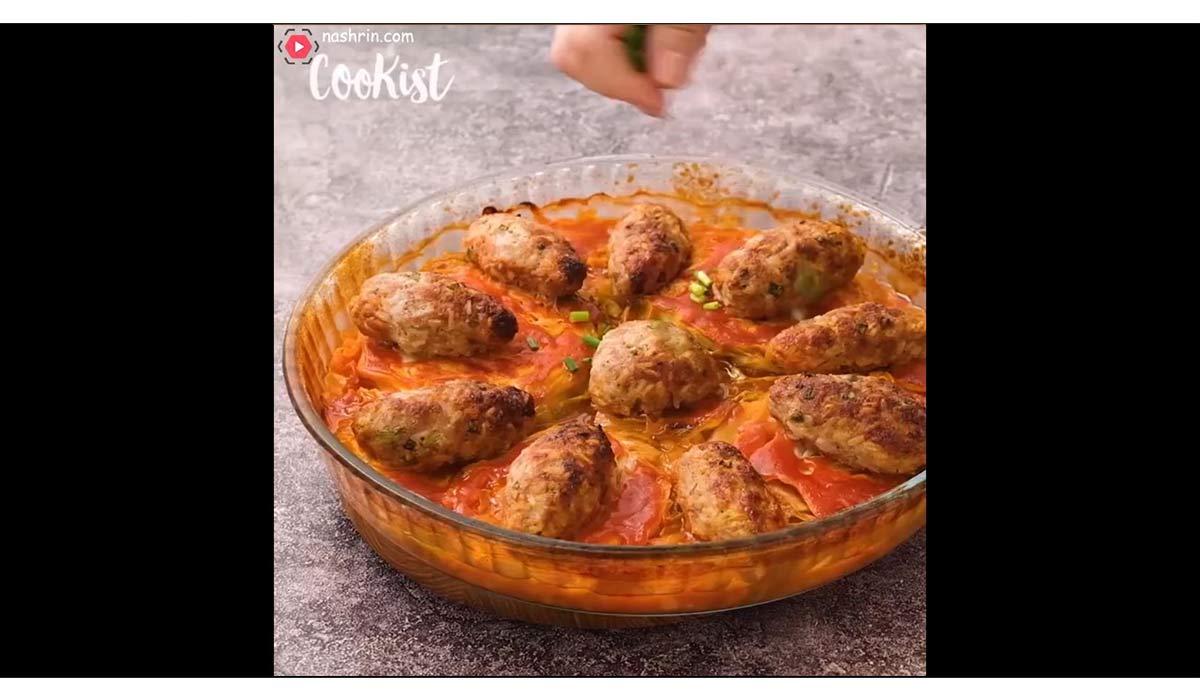 آشپزی   طرز تهیه خوراک کلم با گوشت