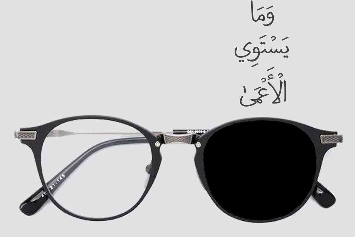 بینا و نابینا یکسان نیستند/ استوری قرآنی