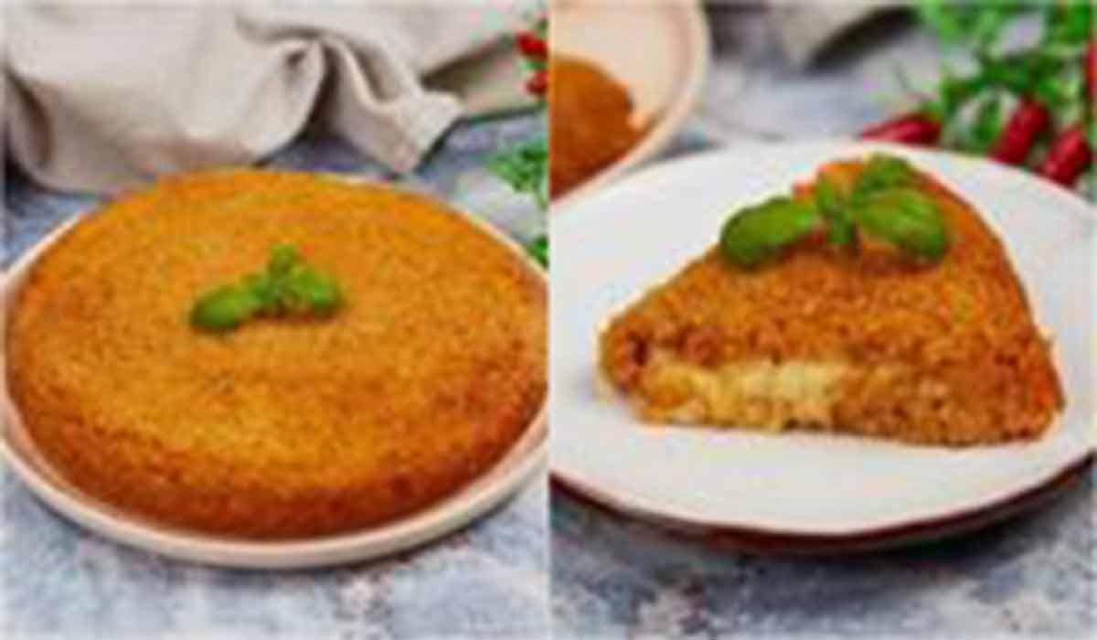 آشپزی طرز تهیه کیک برنج گوجه
