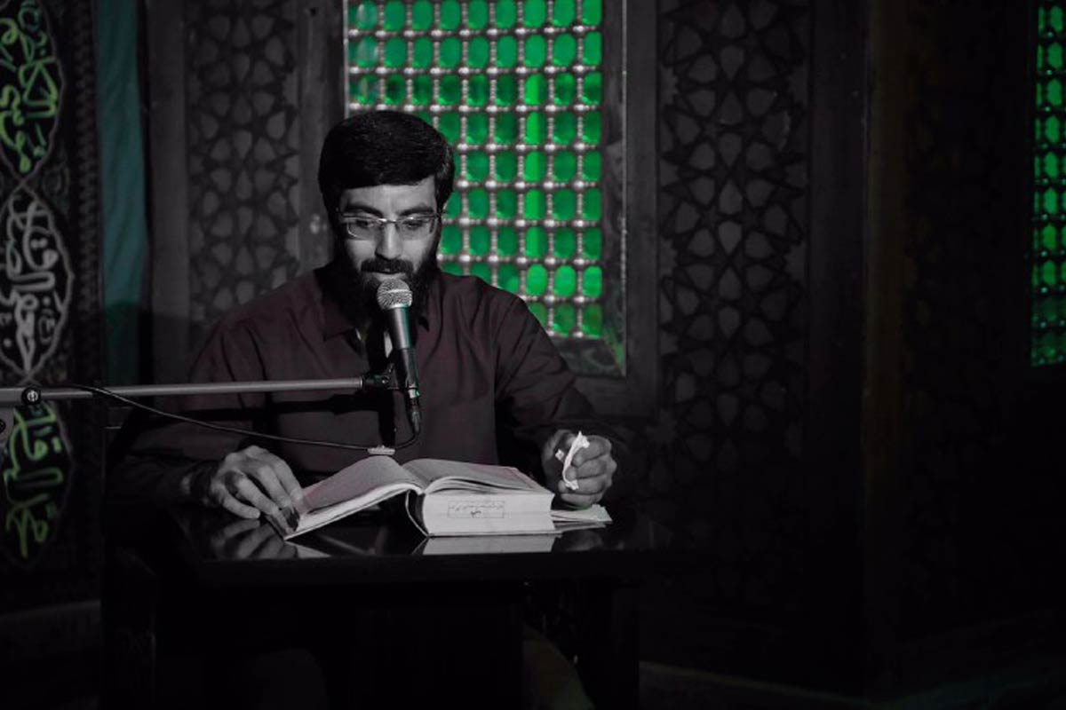 مداحی رمضان 1399/ نریمانی: بیشتر گریه تسلای دل سوزان است