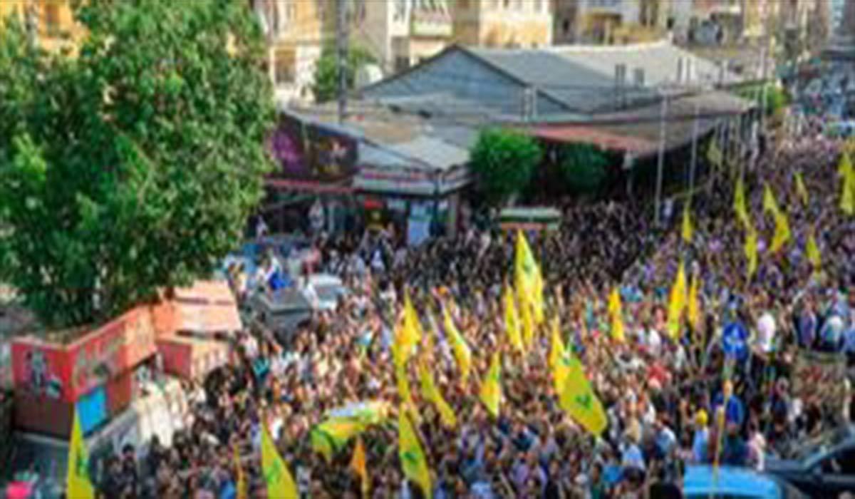 درگیری در تشییع پیکر علی شبلی