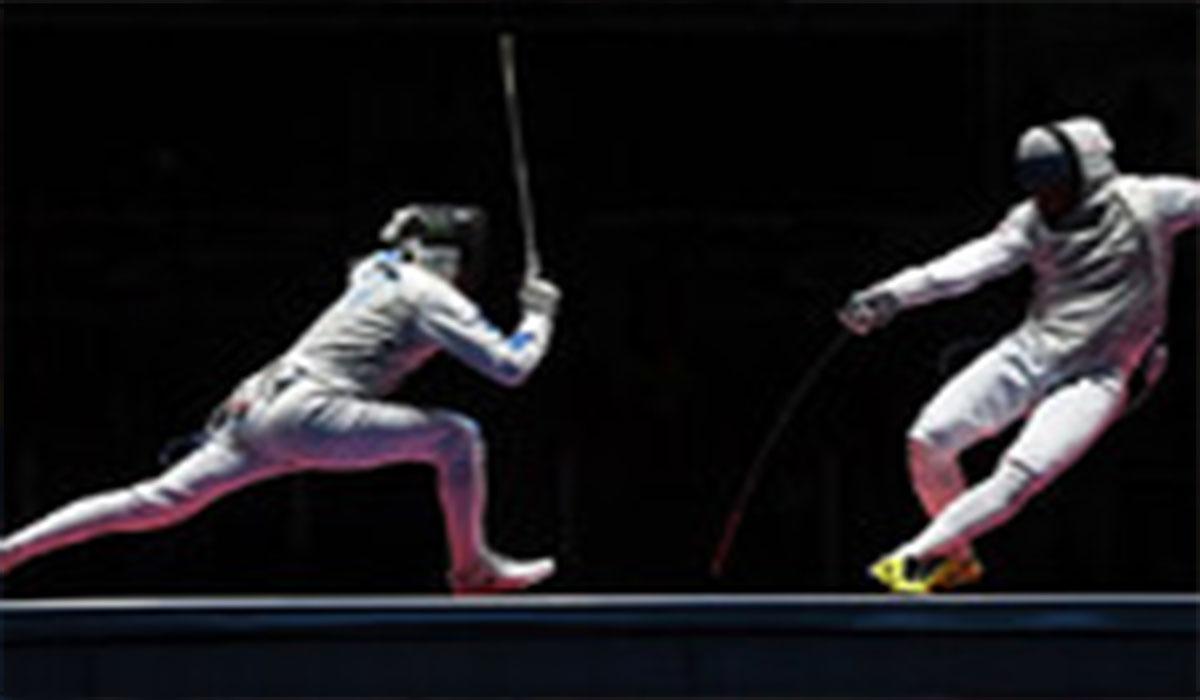 شادی عجیب شمشیرباز المپیکی!