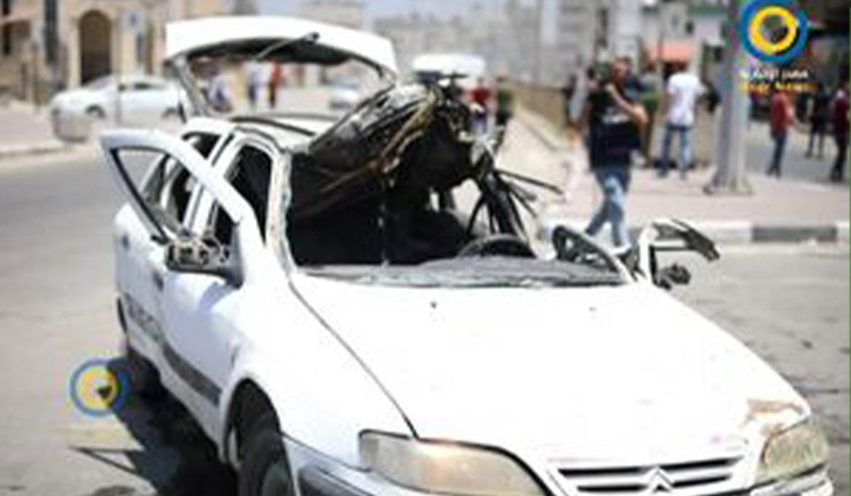 ترور فرمانده فلسطینی در پخش مستقیم المیادین!