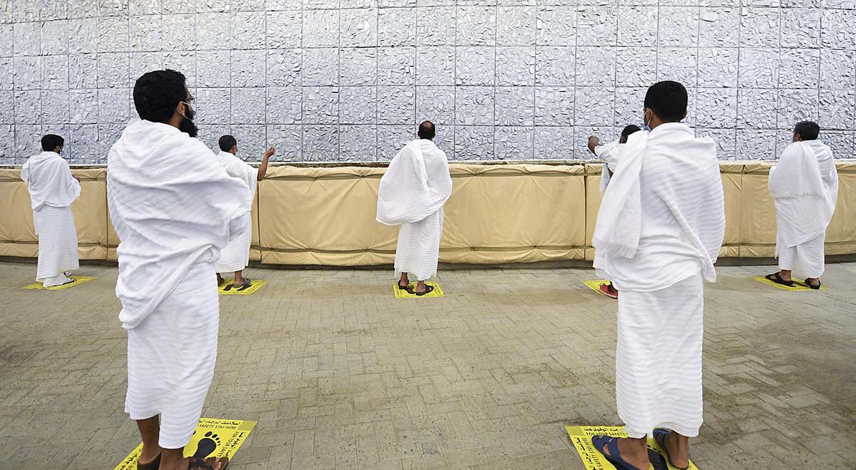 برگزاری مراسم رمی جمرات با تدابیر شدید بهداشتی