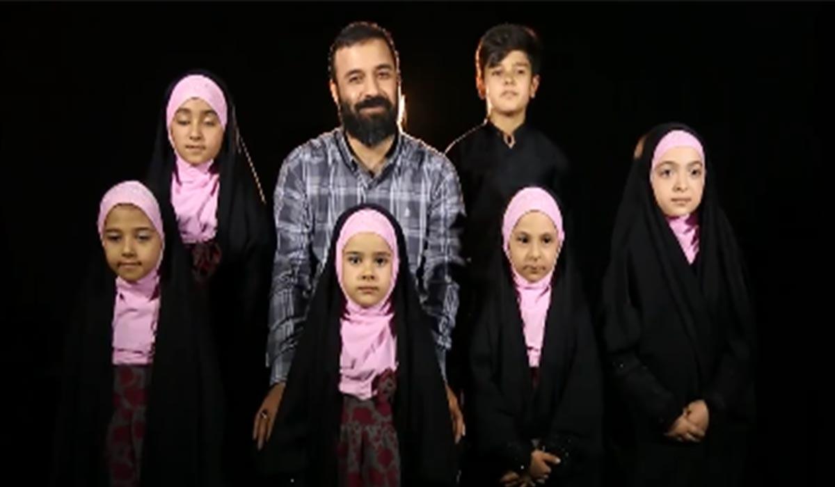 نماهنگ دریای آرامش با نوای عبدالرضا هلالی و کودکان