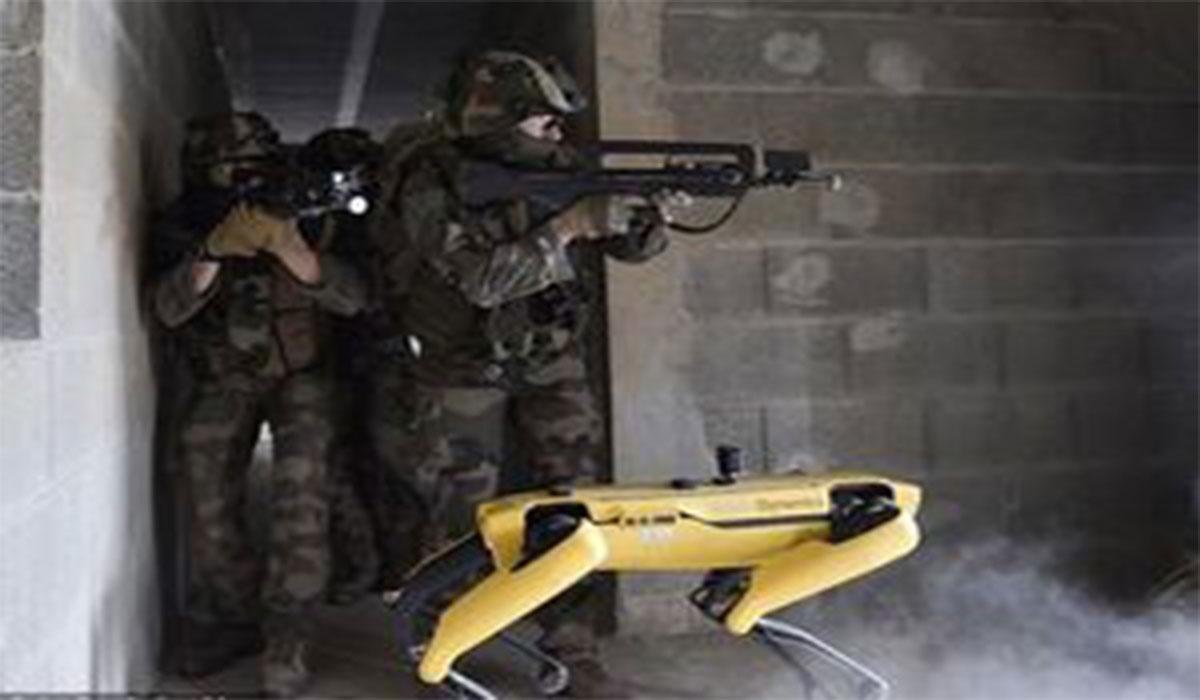 سگهای رباتی نظامی در چین!
