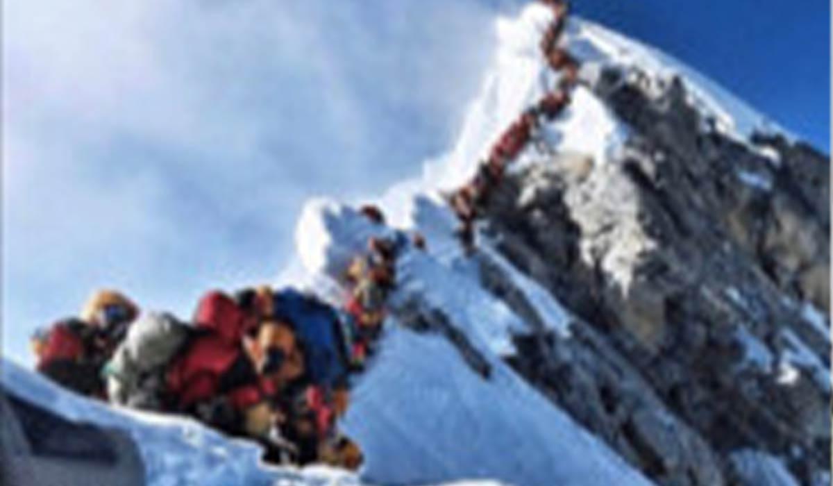 صعود کوهنورد ایرانی به قله اورست!