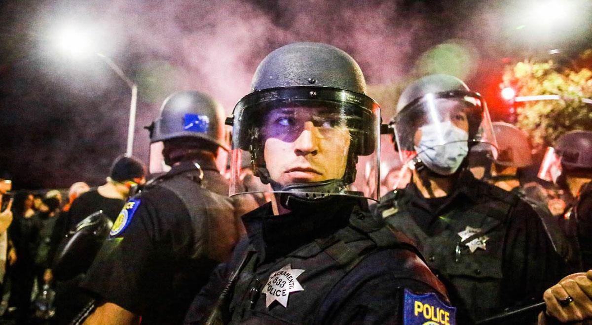نمونه دیگری از وحشی گری پلیس آمریکا