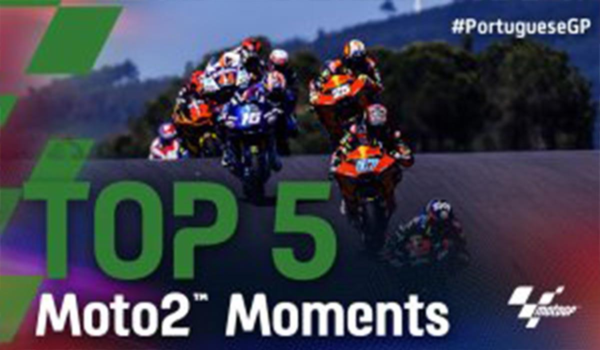 لحظات برتر مسابقات موتو 2 پرتغال
