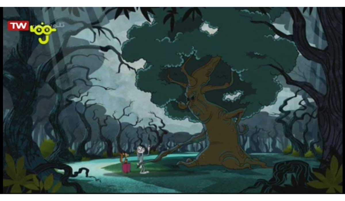 کارتون باگز خرگوشه | درخت بد اخلاق