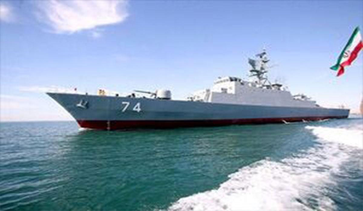 حضور ناوشکن تمام ایرانی سهند در اقیانوس اطلس