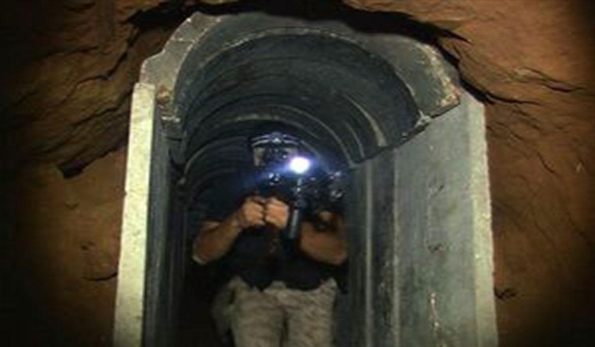 ویدیویی از داخل تونل مقاومت در غزه!
