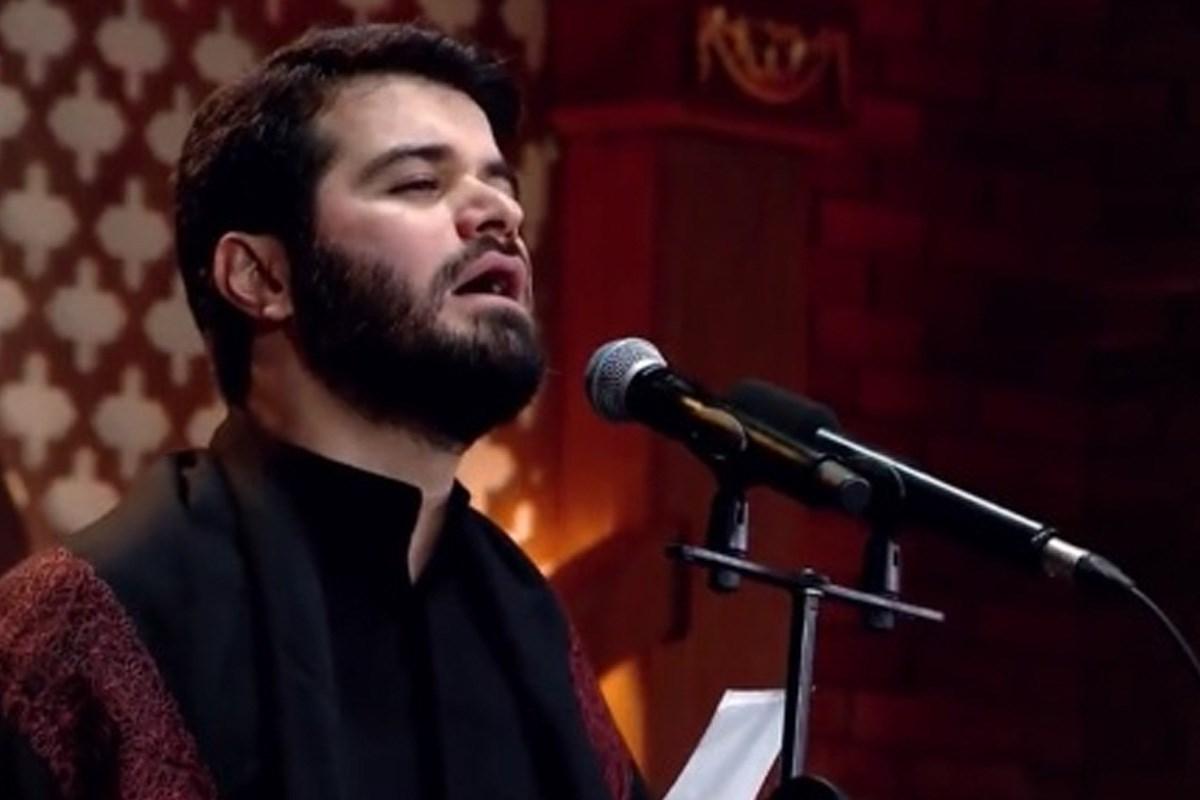 مداحی محرم 98/ مطیعی: از زبان دختران شهدا گله ندارم (زمینه جدید)