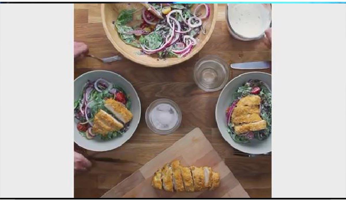 آشپزی | سالاد مرغ مکزیکی