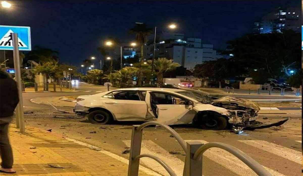انفجار خودروی بمب گذاری شده در تل آویو!
