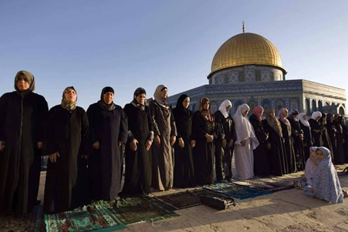 نماز صبح پیروزی فلسطینیان