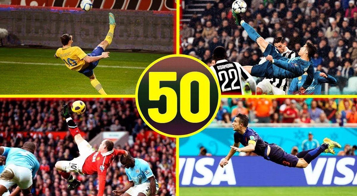 50 گل برتر دنیای فوتبال در ماه اکتبر 2019