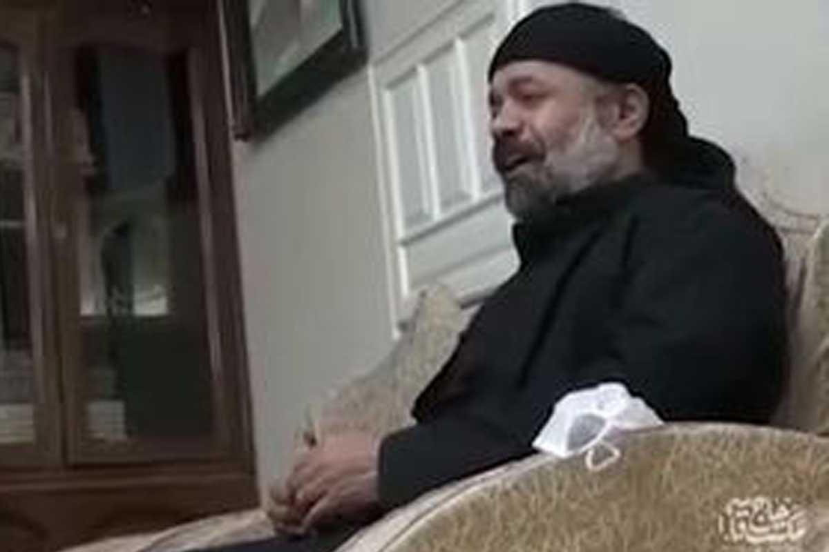 روضه خوانی در منزل سردار سلیمانی/ حاج محمود کریمی