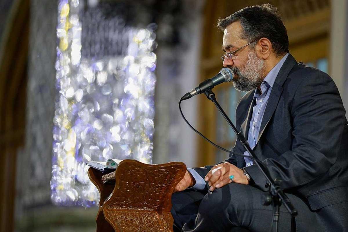 روضه امام موسی بن جعفر(ع) رمضان1400/ محمود کریمی