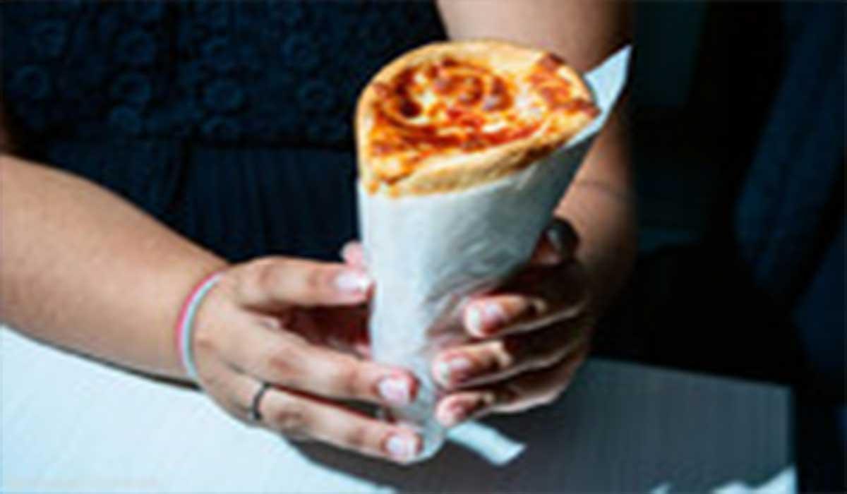 طرز تهیه پیتزای قیفی