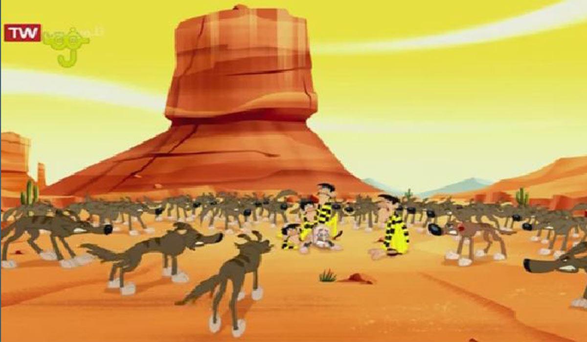 دالتون ها | گرگدن های صحرایی