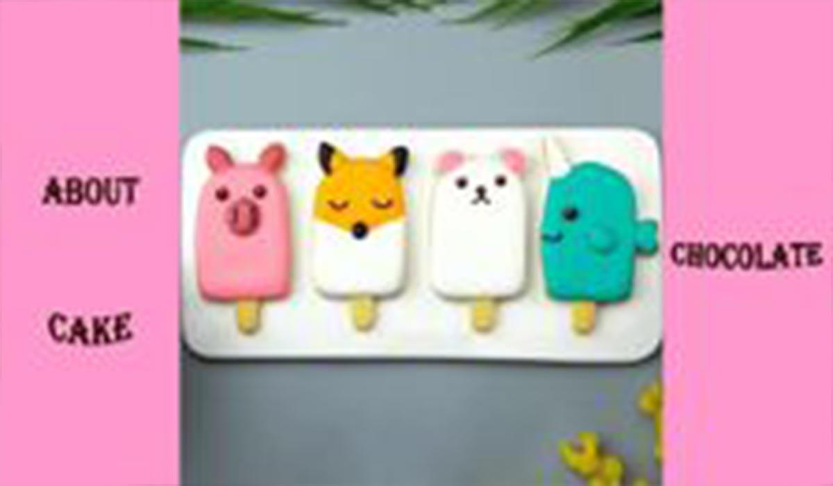 دسر|طرز تهیه کوکی حیوانات عروسکی