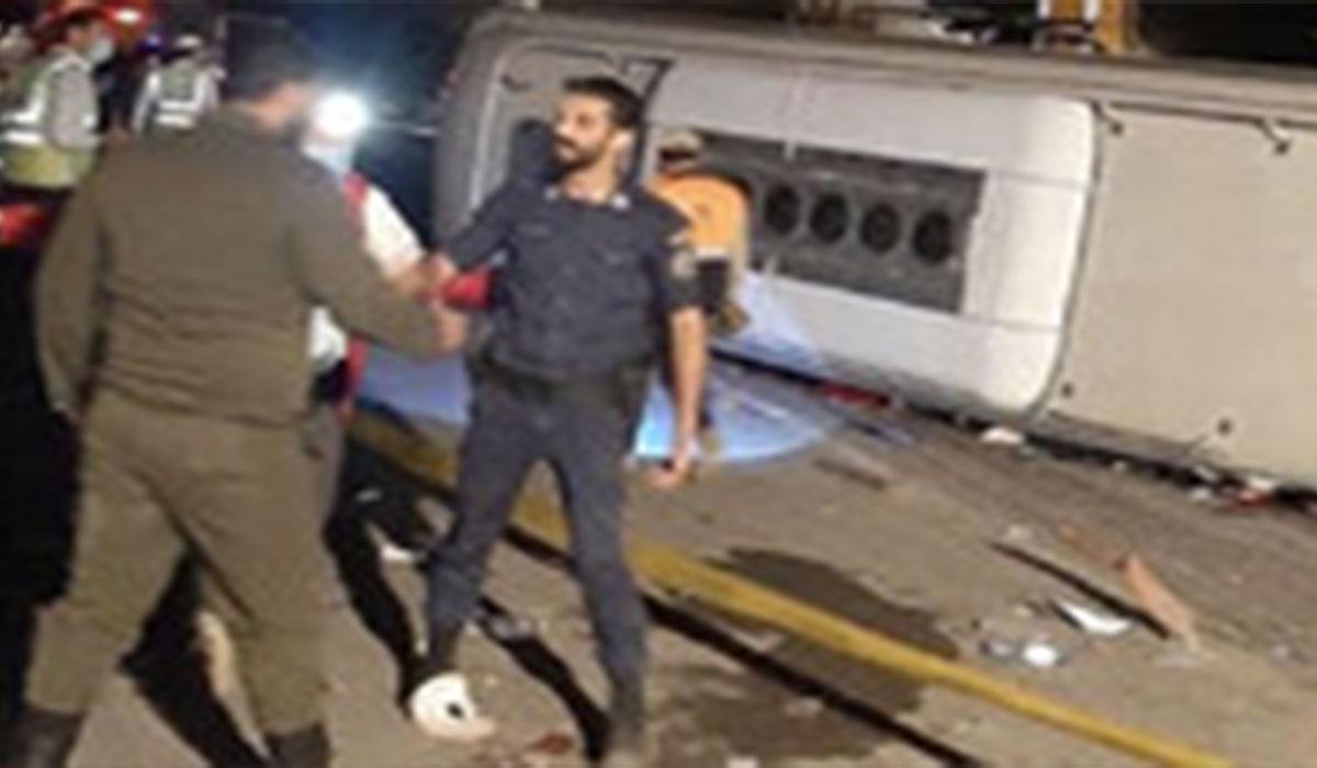 جزئیات سانحه مرگبار اتوبوس در جاده هراز