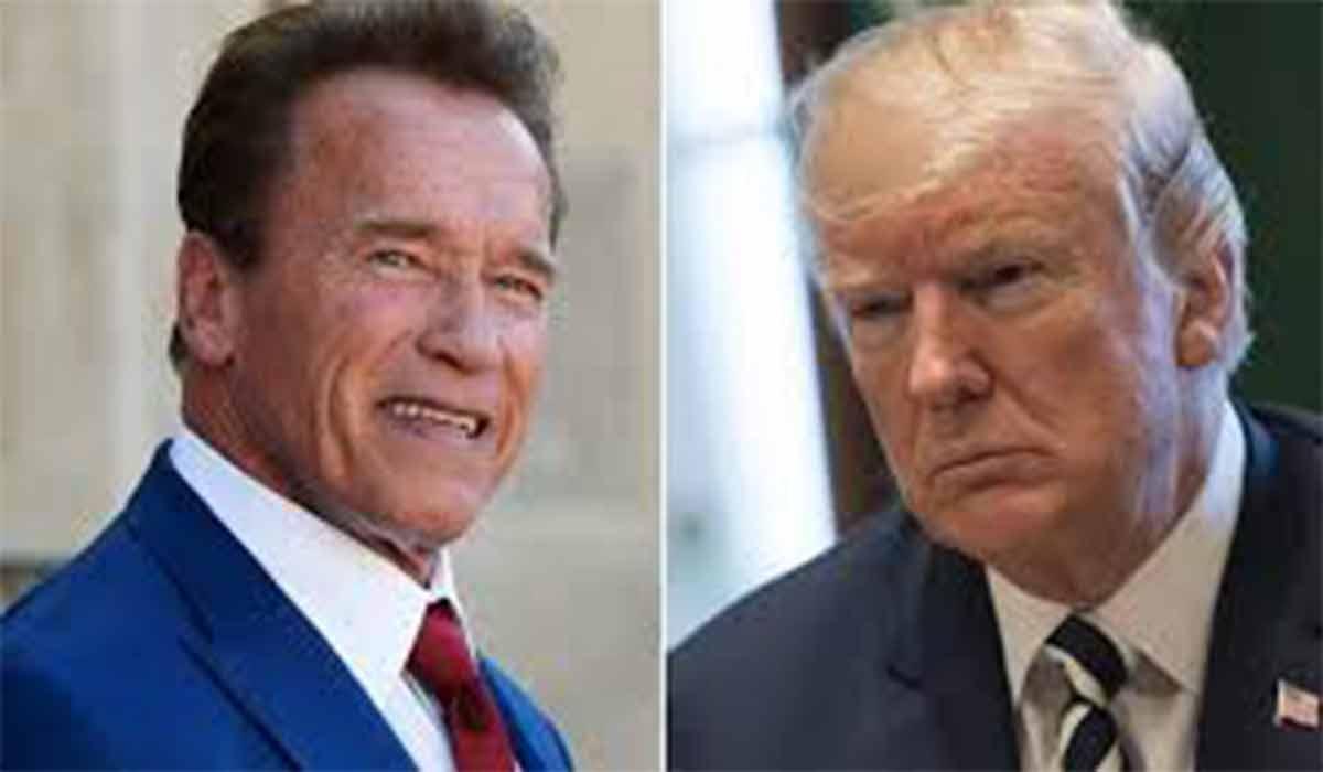 آرنولد بر علیه ترامپ!