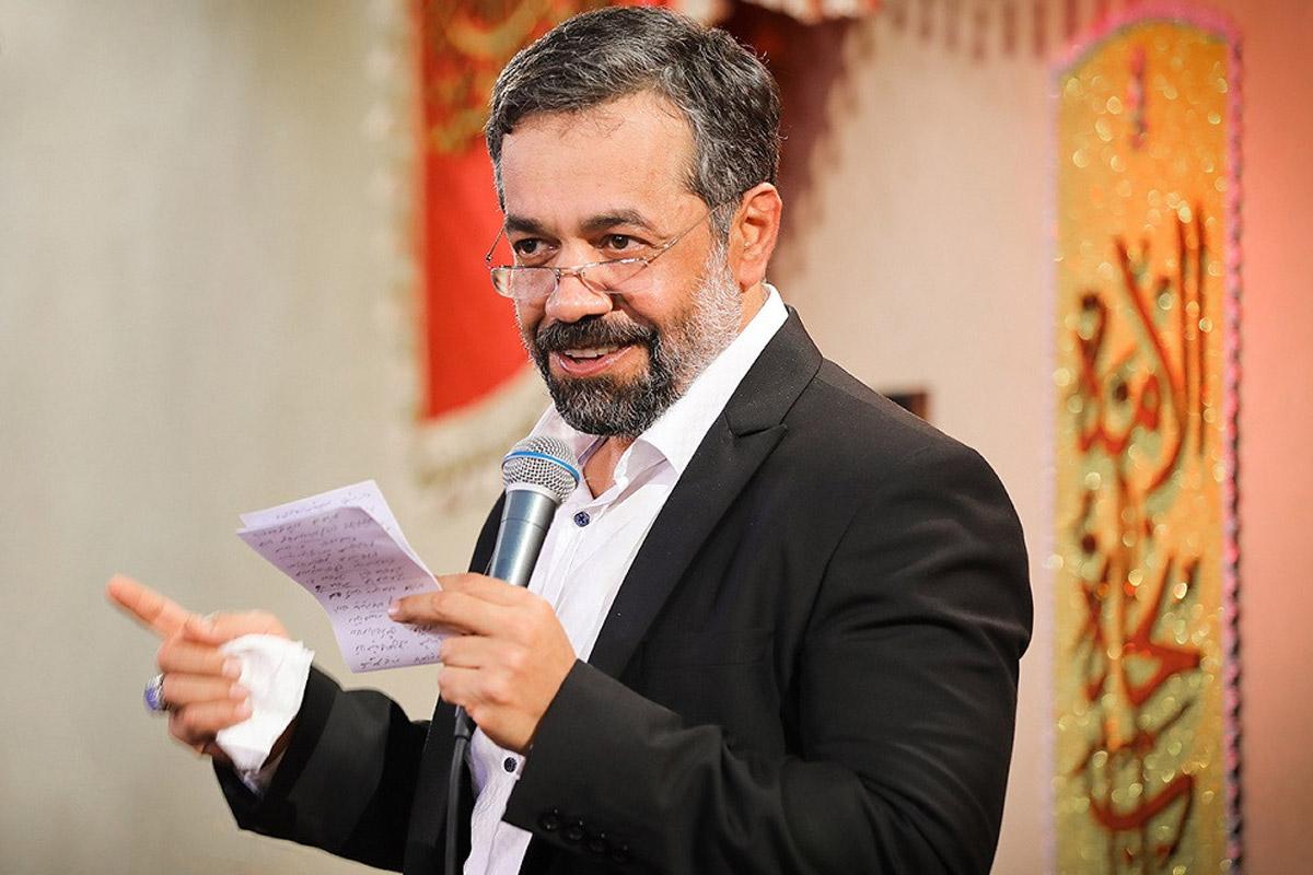 مداحی عید غدیر/ کریمی: منی که از تولدم تو کشوری بزرگ شدم (سرود جدید)