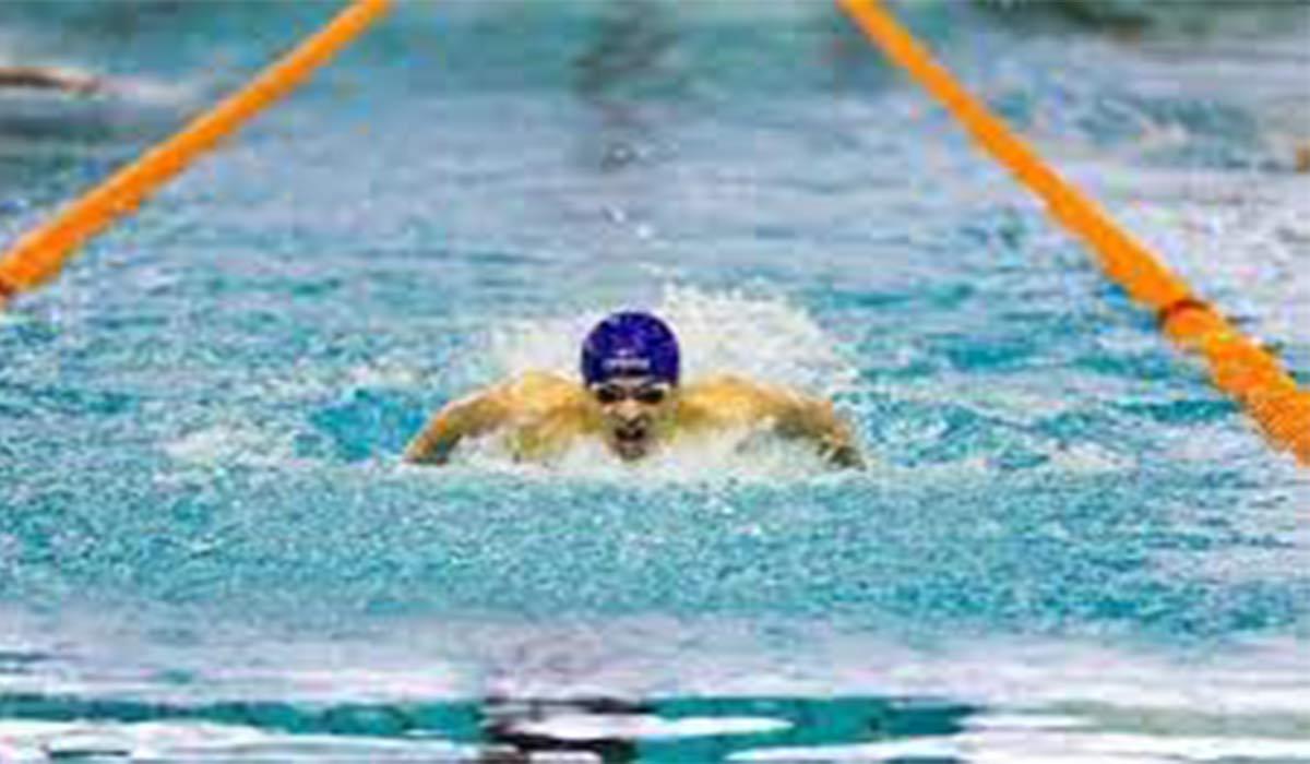 رکورد متین بالسینی با رکورد شناگر سوییسی یکی نیست.