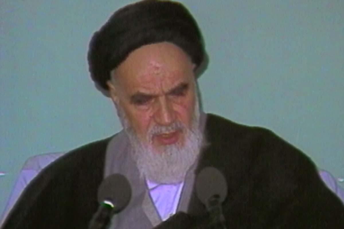 درخواست امام خمینی(ره) از مردم ایران