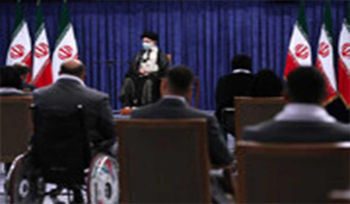 حاشیههای دیدار رهبر انقلاب با مدالآوران ایران