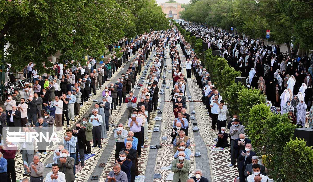 نماز عیدفطر با رعایت پروتکلها انجام می شود