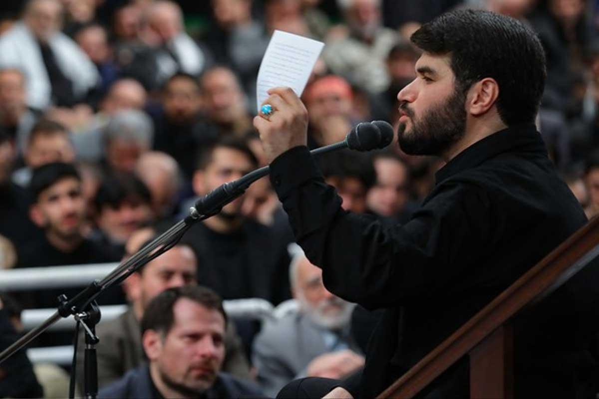شب شهادت حضرت فاطمه در محضر رهبر معظم انقلاب