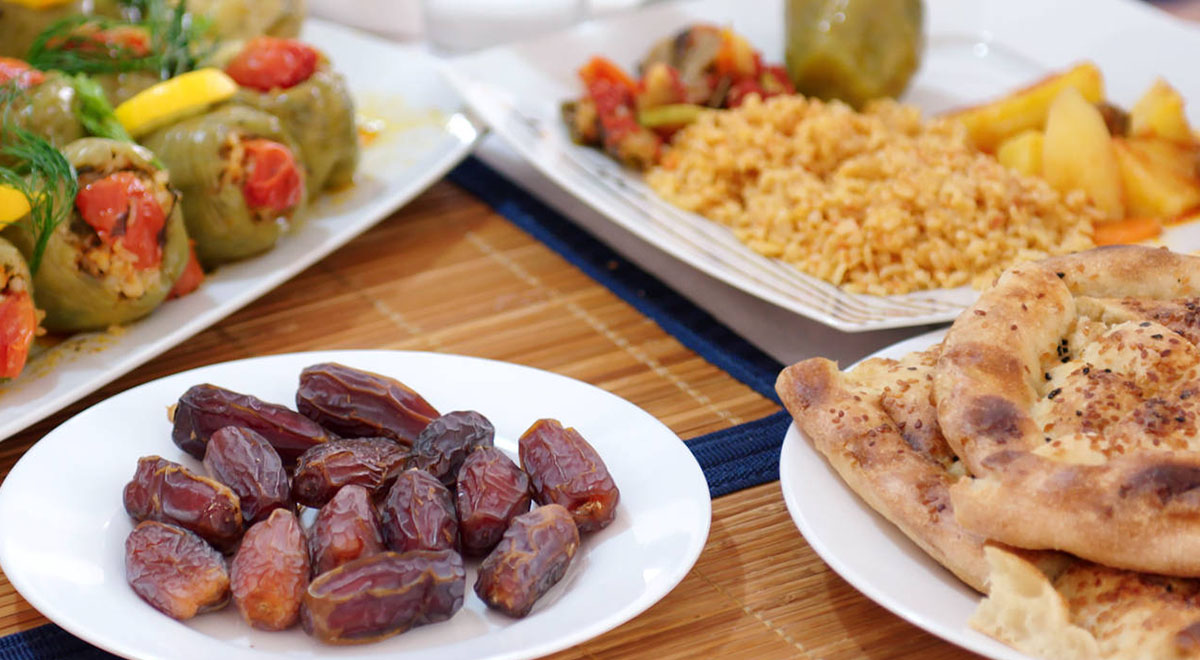 مراسم افطاری مسلمانان آمریکا به شیوهای جالب