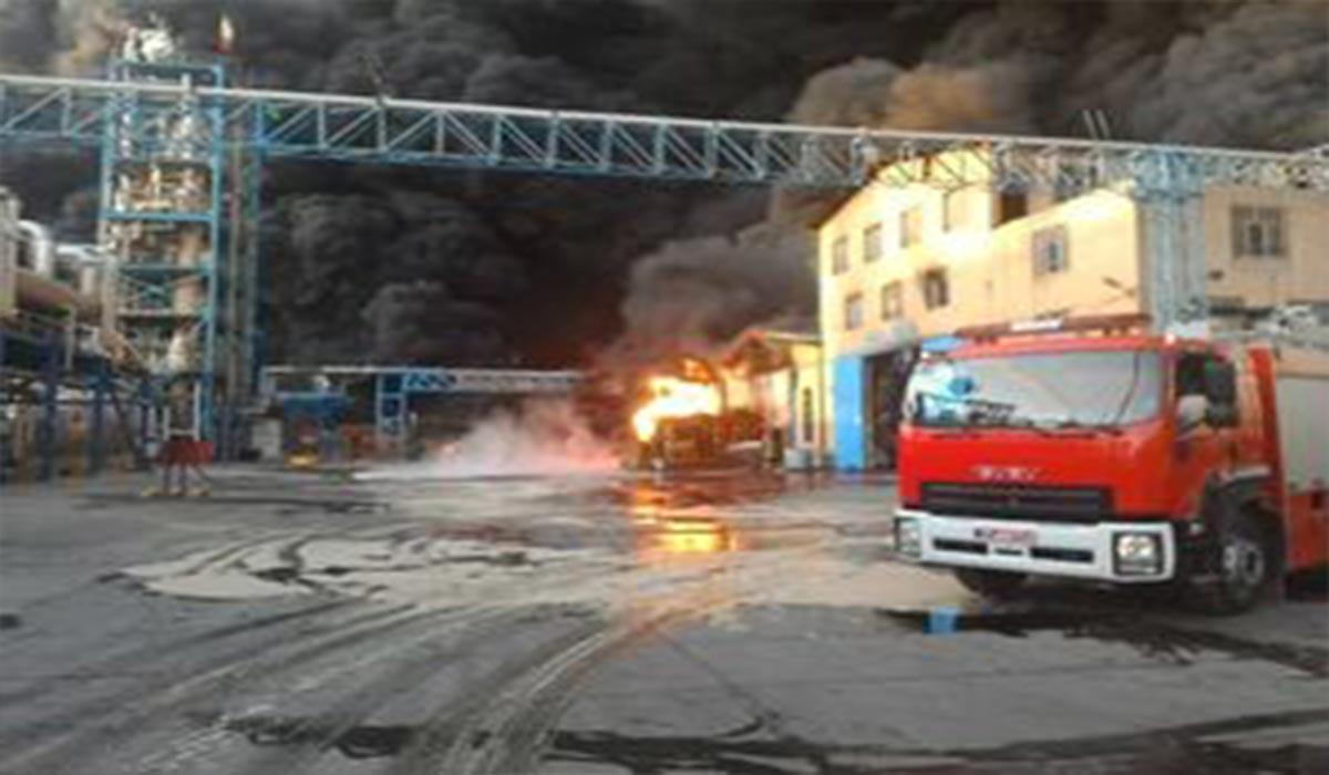 آتشسوزی در واحد تولیدی شوینده قزوین!