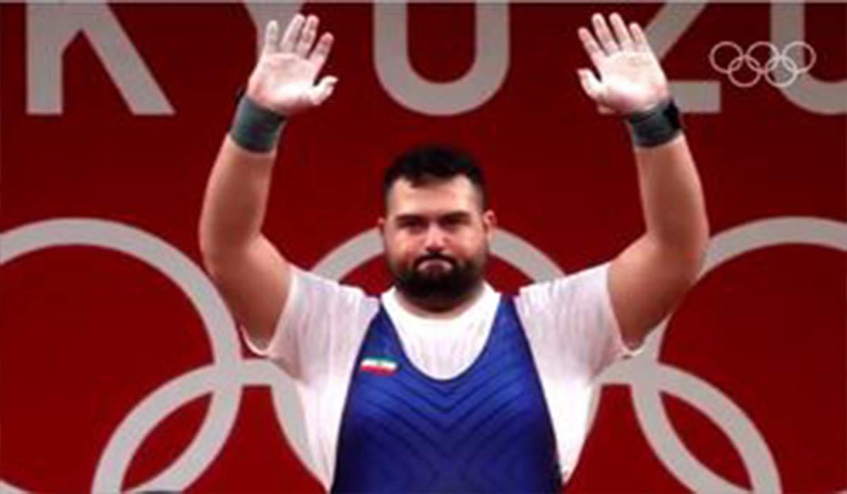 کسب مدال نقره علی داودی و طراحی گرافیکی IOC