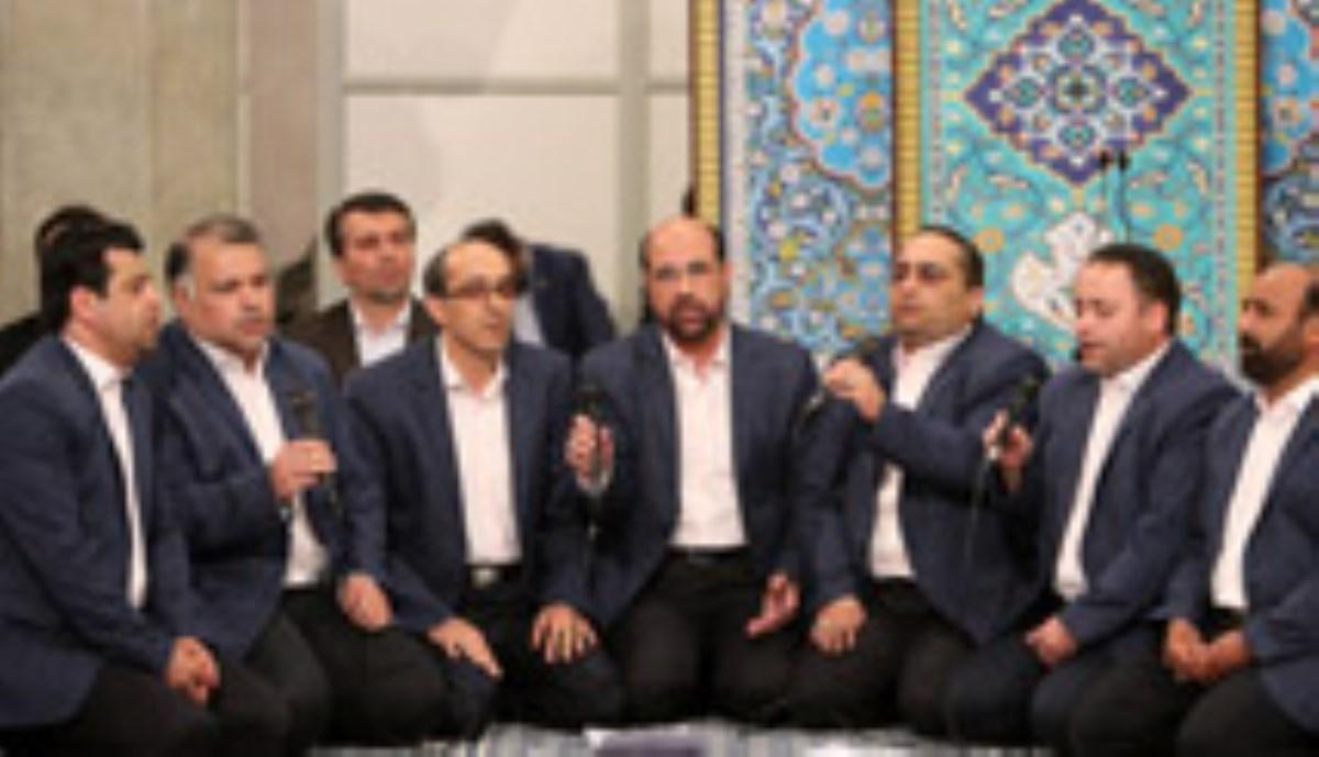 همخوانی گروههای سبطین، معراج و انوار المهدی