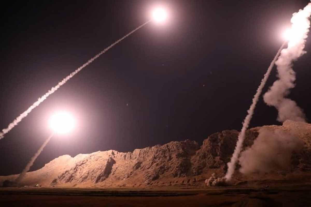 بمباران پایگاه عین الاسد توسط سپاه