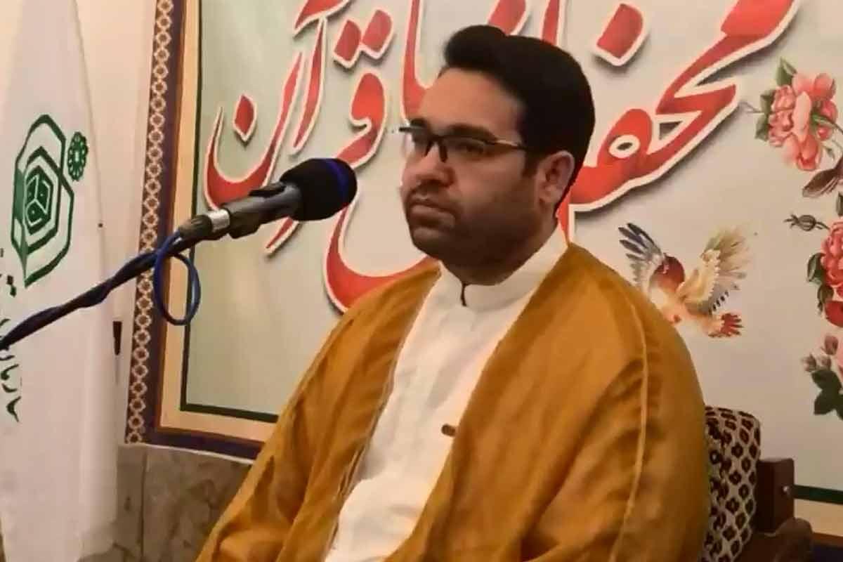 تلاوت آیه 110 سوره کهف/ استاد سیدمحمدجواد حسینی