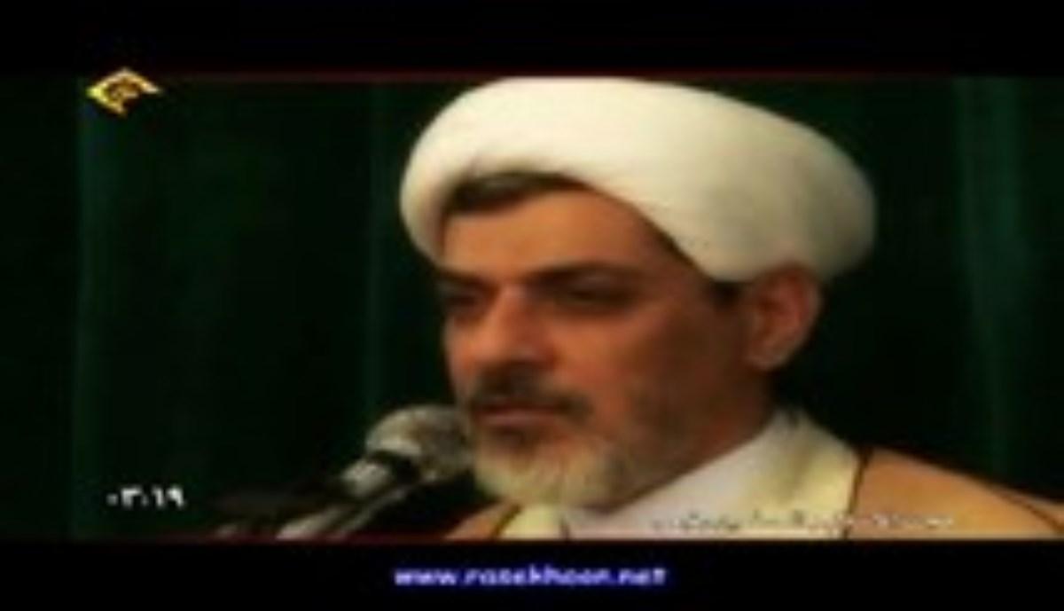 حجت الاسلام دکتر رفیعی-خدا را با نعمت هایش بشناسید