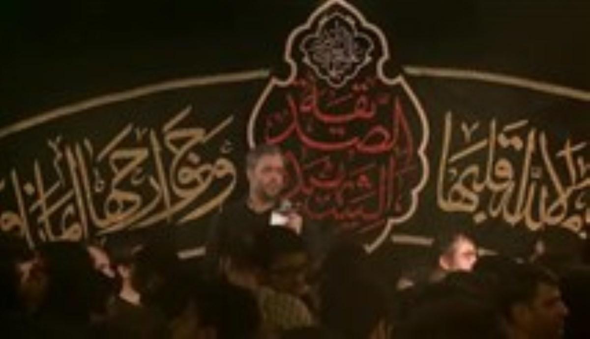 حاج محمود کریمی - شب 18 صفر 96 - گر تو ای لب تشنه برداری سرت (روضه)