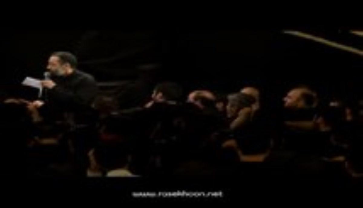 حاج محمود کریمی - شهادت امام سجاد (ع) - سال 1395 - کنار سجاده ام بی نفس افتادم (زمینه جدید)
