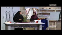 آموزش خیاطی خانم عمرانی در برنامه خانواده یک - آموزش مقنعه دراپه